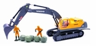 Electric Mining Excavator Truck Remote Control (RC) Toy W/Treads