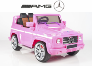 Magic Cars� My First Pink Electric Mercedes G55 RC Ride On Car For Children