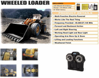 PREMIUM RC Heavy Duty Front Loader Bulldozer W/Controllable Dig & Dump Hobby Engine