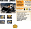 RC Heavy Duty Front Loader Bulldozer W/Controllable Dig & Dump