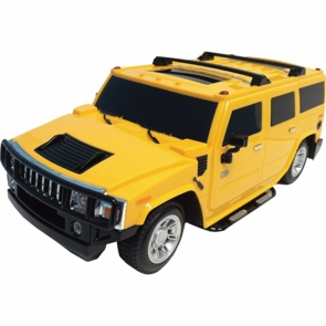 Remote Control Rc Hummer Truck W Cool Rims Amp Lights