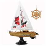 Remote Control (RC) Sailboat W/Rechargeable Battery Pack
