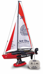 Remote Control (RC) Sailboat Easy To Drive