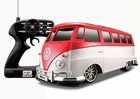 Remote Control VW Beetle Van Bus RC Car W/Battery & Charger