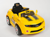 Magic Cars� Bumblebee Yellow Ride On Camaro Remote Control Car Like Transformers