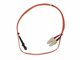 1 Meter MTRJ - SC Multimode 62.5/125 Duplex Fiber Optic Jumper Cable