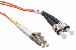 1 Meter - Multimode Fiber Patch Cable - 62.5/125 - LC/ST