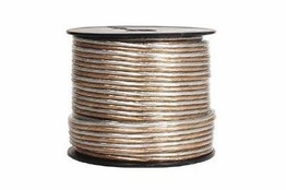 12/2 Clear Speaker Wire - 500 FT