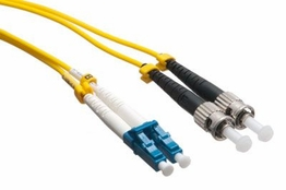 15 Meter - Singlemode Fiber Patch Cable - 9/125 - LC/ST