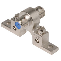 2.5 Ghz 1 Ground Single F Connector High Performance Grounding Block