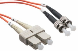 2 Meter - Multimode Fiber Patch Cable - 50/125 - SC/ST