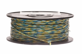 24 AWG Blue/Yellow Cross Connect Wire - 1000FT
