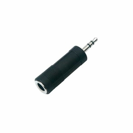 3.5MM Mini Stereo Male to 1/4 Inch Female Stereo Converter Adapter