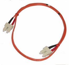 3 Meter SC-SC Multimode 62.5/125 Duplex Fiber Optic Jumper Cable