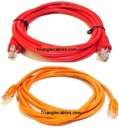 5 Foot Cat6 Crossover Ethernet Patch Cables
