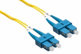 5 Meter - Singlemode Fiber Patch Cable - 9/125 - SC/SC