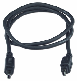 6 Foot Firewire 400 IEEE 1394 Sony ilink 4 Pin 4 Pin Audio Video Cable