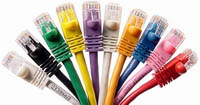 6 Inch UTP Cat5e Ethernet  Patch Cables