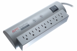 7 Outlet Surge Protector - 6ft Cord - 840 Joules