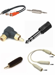 "Audio Adapters RCA 3.5mm 1/8"" 2.5mm 3/32"" 1/4"" 6.3mm"" title=""Audio Adapters RCA 3.5mm 1/8"" 2.5mm 3/32"" 1/4"" 6.3mm"