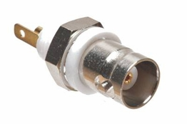 BNC Chassis Mount Connector - Female - Isolated