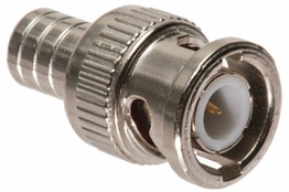 BNC Crimp Connector - Male - RG58 PVC
