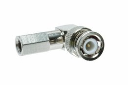 BNC Twist-On Connector - Right Angle - Male - RG-59 PVC