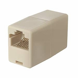 CAT 5 RJ45 Female to RJ45 Female 8P8C Straight Inline Network Coupler