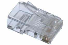 Cat5e Rated - RJ45 Connector - Solid Cable
