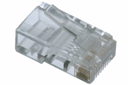Cat5e Rated - RJ45 Connector - Stranded Cable