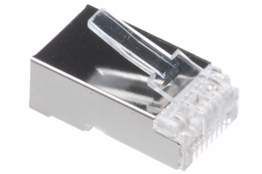 Cat5e Rated - RJ45 Shielded Connector - Stranded Cable