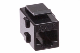 Cat6 Keystone Coupler - Black
