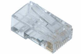 Cat6 Rated - RJ45 Connector - Without Guide