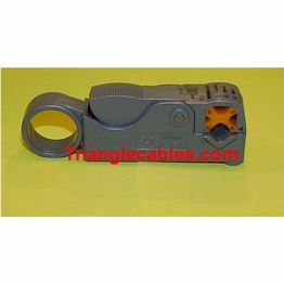 Coaxial Cable Stripper Two Blade RG-6, RG-59, RG-58, RG-62 Ethernet
