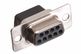 DB9 Connector - Female - Crimp