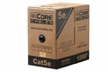 ECore Cables Cat5e UTP Solid PVC Cable - 1000 FT