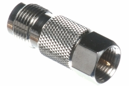 F-Type Male to TNC Female Adapter