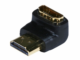 HDMI A Male to HDMI A Female 90 Degrees Port Saver adapter 1080P 2160P