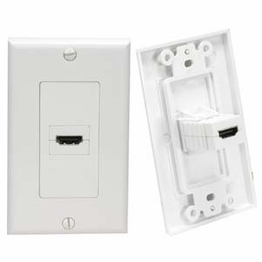 HDMI High Speed With Ethernet Wall Plates