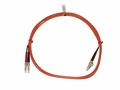 LC/LC Multimode Fiber Patch Cable 62.5/125