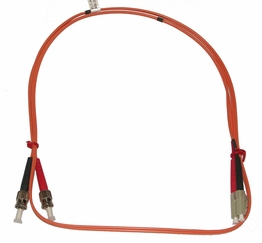 LC/ST Multimode Fiber Patch Cable 50/125