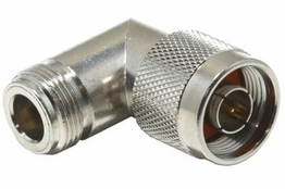 N Right Angle Adapter - Male/Female