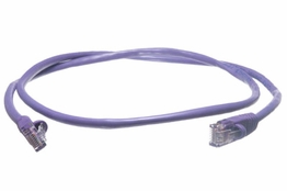 Purple 6 Foot Cat5e RJ-45 350Mhz Ethernet Network UTP Patch Cable