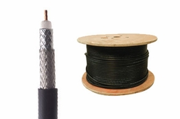 RG11 Coax Cable - Black - 1000 FT