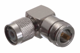 Right Angle TNC Male to N Female Adapter