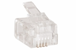 RJ11 Modular Plug for Flat Cable - 6P4C