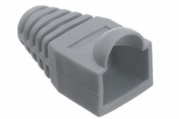 RJ45 Boot - Strain Relief - Gray
