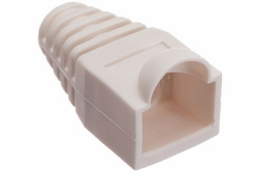 RJ45 Boot - Strain Relief - White