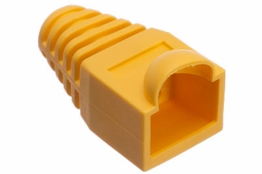 RJ45 Boot - Strain Relief - Yellow