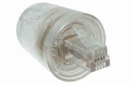 Twist Stop Telephone Cord Detangler - Clear